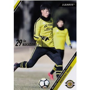 28 【中川創(ROOKIE)】2018Jリーグカード TEメモラビリア 柏レイソル レギュラー|jambalaya