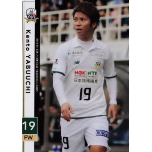 17 【薮内健人】[クラブ発行]2018 FC岐阜 オフィシャルカード レギュラー|jambalaya