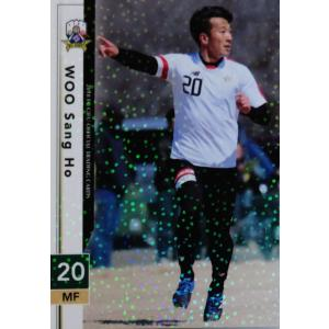18 【禹相皓】[クラブ発行]2018 FC岐阜 オフィシャルカード レギュラーパラレル|jambalaya