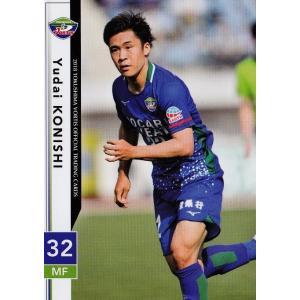 25 【小西雄大】[クラブ発行]2018 徳島ヴォルティス オフィシャルカード レギュラー jambalaya
