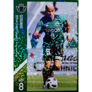 9 【セルジーニョ】[クラブ発行]2018 松本山雅FC オフィシャルカード レギュラーパラレル|jambalaya
