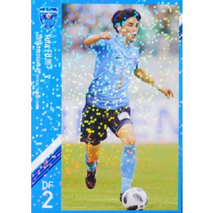 2 【藤井悠太】[クラブ発行]2018 横浜FC オフィシャルカード レギュラーパラレル jambalaya