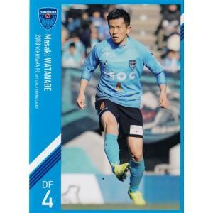 4 【渡邉将基】[クラブ発行]2018 横浜FC オフィシャルカード レギュラー jambalaya
