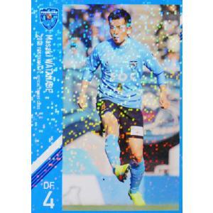 4 【渡邉将基】[クラブ発行]2018 横浜FC オフィシャルカード レギュラーパラレル jambalaya