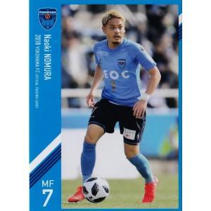 6 【野村直輝】[クラブ発行]2018 横浜FC オフィシャルカード レギュラー jambalaya