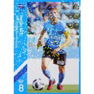 7 【佐藤謙介】[クラブ発行]2018 横浜FC オフィシャルカード レギュラーパラレル jambalaya