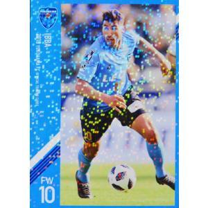 9 【イバ】[クラブ発行]2018 横浜FC オフィシャルカード レギュラーパラレル jambalaya