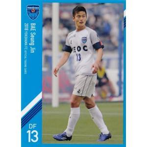 11 【ペ スンジン】[クラブ発行]2018 横浜FC オフィシャルカード レギュラー jambalaya