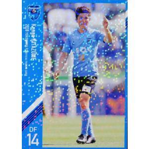 12 【北爪健吾】[クラブ発行]2018 横浜FC オフィシャルカード レギュラーパラレル jambalaya