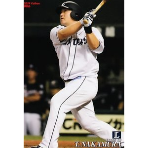 6 【中村剛也/埼玉西武ライオンズ】カルビー 2019プロ野球チップス第1弾 レギュラー|jambalaya