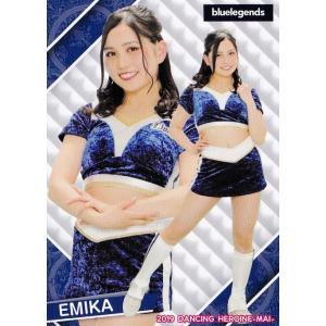 2 【EMIKA (西武/bluelegends)】BBM プロ野球チアリーダーカード2019 -舞- レギュラー|jambalaya
