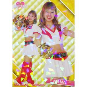 11 【NANA (ソフトバンク/Honeys)】BBM プロ野球チアリーダーカード2019 -舞- レギュラーホロパラレル|jambalaya