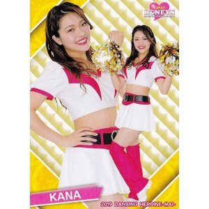 14 【KANA (ソフトバンク/Honeys)】BBM プロ野球チアリーダーカード2019 -舞- レギュラー|jambalaya