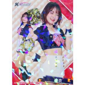 34 【由衣 (ロッテ/M☆Splash!!)】BBM プロ野球チアリーダーカード2019 -舞- レギュラーホロパラレル|jambalaya