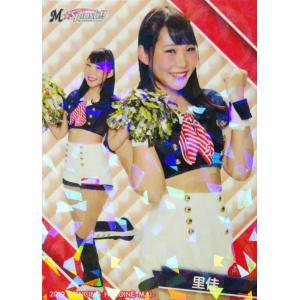 36 【里佳 (ロッテ/M☆Splash!!)】BBM プロ野球チアリーダーカード2019 -舞- レギュラーホロパラレル|jambalaya