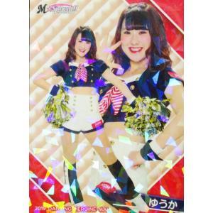 38 【ゆうか (ロッテ/M☆Splash!!)】BBM プロ野球チアリーダーカード2019 -舞- レギュラーホロパラレル|jambalaya
