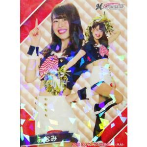 42 【みなみ (ロッテ/M☆Splash!!)】BBM プロ野球チアリーダーカード2019 -舞- レギュラーホロパラレル|jambalaya