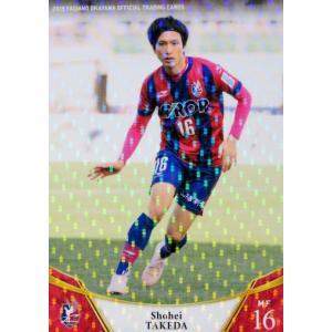 14 【武田将平】[クラブ発行]2019 ファジアーノ岡山 オフィシャルカード レギュラーパラレル|jambalaya