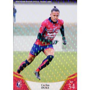 31 【デューク カルロス】[クラブ発行]2019 ファジアーノ岡山 オフィシャルカード レギュラーパラレル|jambalaya