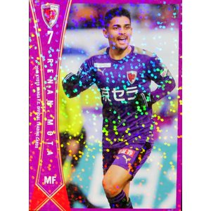8 【レナン モッタ】[クラブ発行]2019 京都サンガFC オフィシャルカード レギュラーパラレル|jambalaya