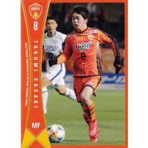 9 【佐々木匠】[クラブ発行]2019 レノファ山口FC オフィシャルカード レギュラー jambalaya