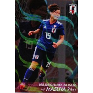 NJ13 【増矢理花/INAC神戸レオネッサ】カルビー 2019 サッカー日本代表チップス レギュラー [なでしこジャパン]|jambalaya