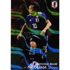 SB10 【中島翔哉/アル・ドゥハイルSC】カルビー 2019 サッカー日本代表チップス レギュラー [日本代表]|jambalaya