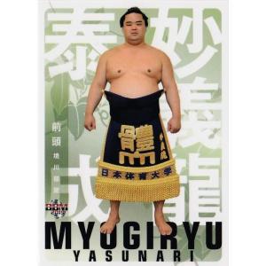 13 【妙義龍 泰成】BBM2019 大相撲カード 「風」 レギュラー|jambalaya
