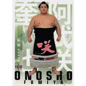 19 【阿武咲 奎也】BBM2019 大相撲カード 「風」 レギュラー|jambalaya