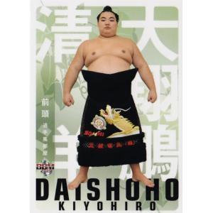 40 【大翔鵬 清洋】BBM2019 大相撲カード 「風」 レギュラー|jambalaya