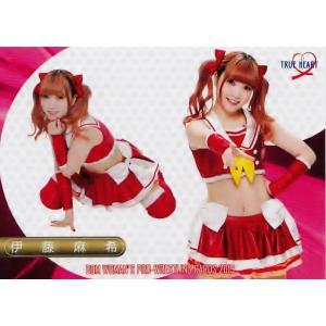 16 【伊藤麻希】BBM 女子プロレスカード2019 TRUE HEART レギュラー|jambalaya