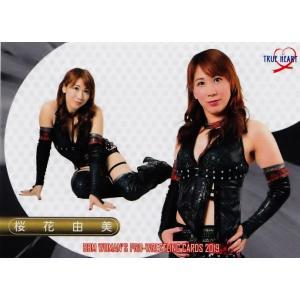 22 【桜花由美】BBM 女子プロレスカード2019 TRUE HEART レギュラー|jambalaya