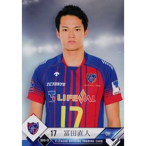 8 【冨田直人/FC東京】2018-19 V・プレミアリーグ男子公式トレーディングカード レギュラー jambalaya