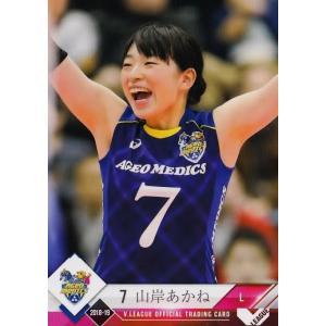 2 【山岸あかね/埼玉上尾メディックス】2018-19V・プレミアリーグ女子公式トレーディングカード レギュラー jambalaya
