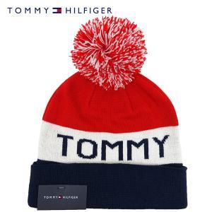 TOMMY HILFIGER トミーヒルフィガー ポンポン ニットキャップ メンズ レディース TH...