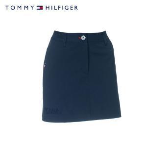 8f78b8cfa06ba TOMMY HILFIGER GOLFトミーヒルフィガー ゴルフ スカート レディース THLA918 ゴルフウェア BASIC SKIRT 吸水速乾  ネイビー