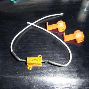 球切れ警告灯キャンセラー メタルクラッド抵抗5W (定格10W39Ω) jamix