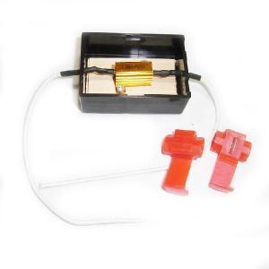 耐熱ケース付 球切れ警告灯キャンセラー メタルクラッド抵抗5W (定格10W39Ω) jamix