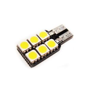 T10 片面実装SMD(LED)室内灯やポジション 6SMD(LED) ホワイト ナンバー灯などに jamix