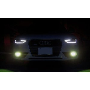 AUDI H8 フォグ HID化キット Cnlight HID キャンセラー内蔵 新型A4 A4アバント、A3|jamix