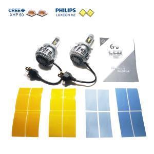 LEDヘッドライト PHILIPS LUXEON MZ Chip+CREE XHP50 搭載 H4(Hi/Lo) canbus|jamix