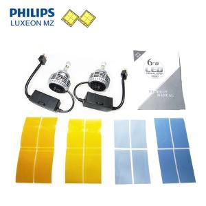 LEDヘッドライト PHILIPS LUXEON MZ Chip 搭載 H7 Canbus|jamix