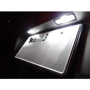 GOLFVII ゴルフ7 ナンバー灯用LED(SMD)セット 球切れ警告灯キャンセラー内蔵|jamix
