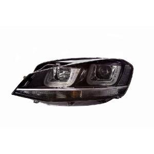 VW ゴルフ7用 SONAR製プロジェクターヘッドライトユニット DRLルック オートレベライザー付き|jamix