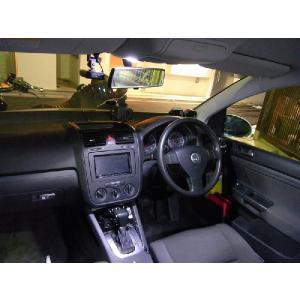 フォルクスワーゲン ゴルフ5 VW Golf5 室内灯+ウェルカムランプLED化セット ゴルフV|jamix|05