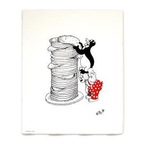 ラスムス キャンバスボード (パンケーキ)|jammy-store