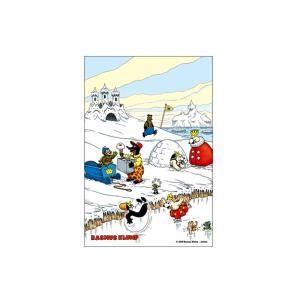 ラスムス ポストカード(雪遊び) jammy-store