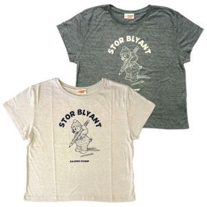 ラスムス レディースワイドTシャツ ペンシル|jammy-store