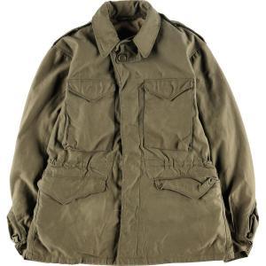 40年代 米軍実品 U.S.ARMY M-43 ミリタリー フィールドジャケット USA製 34R メンズM ヴィンテージ 【中古】 【200229】 /eaa009373|jamtrading1