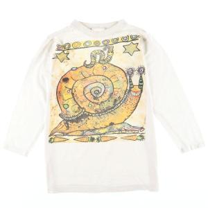 90年代 アートTシャツ メンズS ヴィンテージ 【中古】 【200314】 /eaa011084|jamtrading1